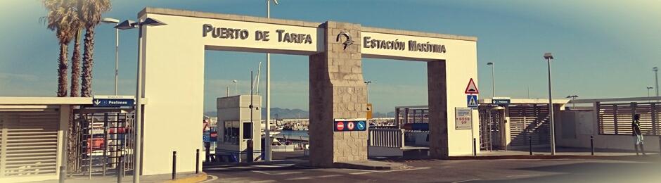 Estación marítima del Puerto de Tarifa