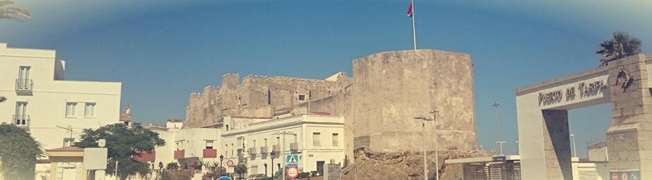 Torre octogonal del Castillo Medieval de Tarifa, siglo X
