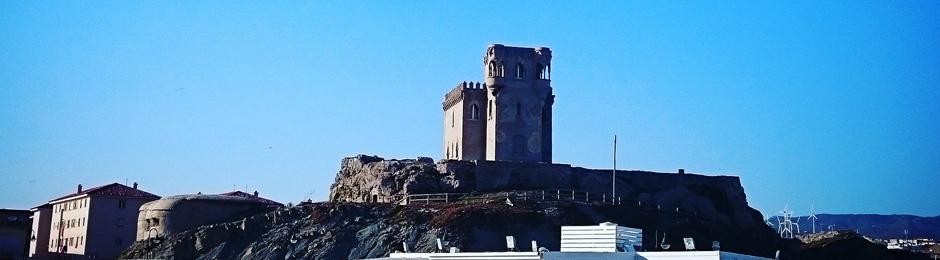 Castillo en el cerro de Santa Catalina, Tarifa