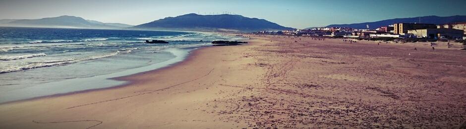 Playa de los Lances Sur en Tarifa