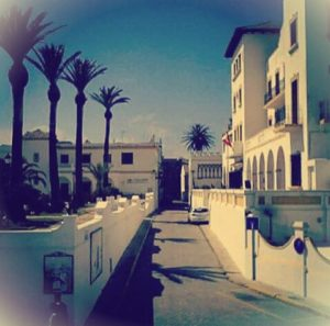 calle Amargura en Tarifa