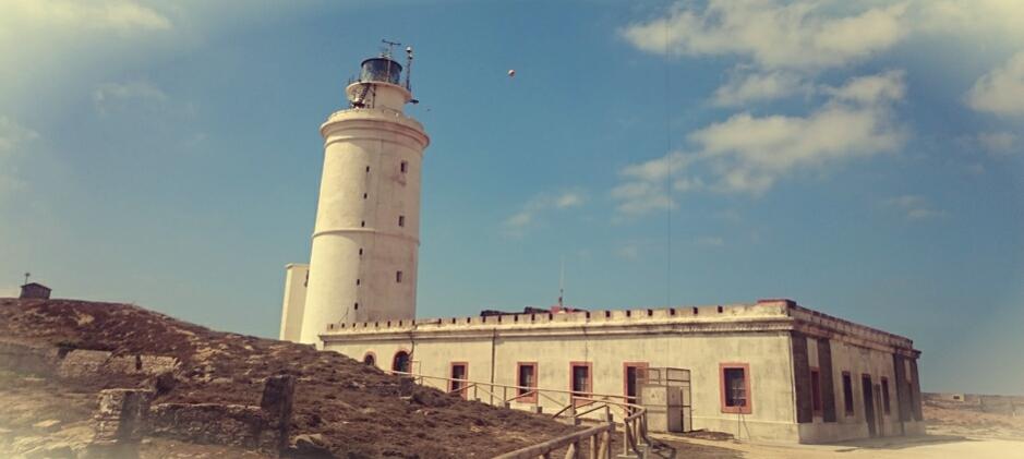 Faro de Tarifa en la Isla de las Palomas
