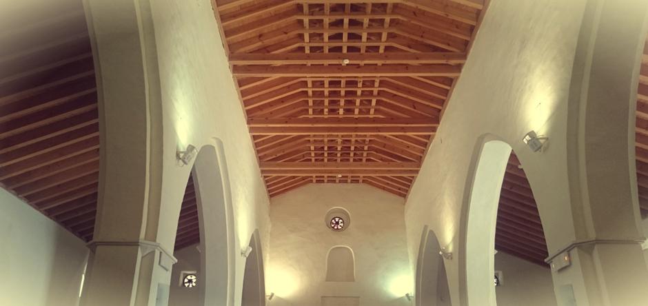Interior de la iglesia de Santa María (Tarifa)
