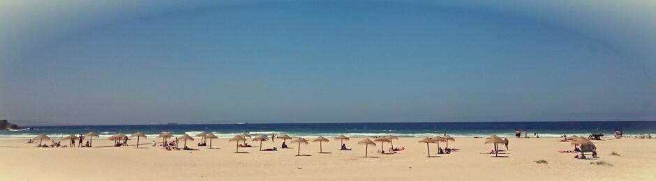 Los Lances, la playa más grande de Tarifa