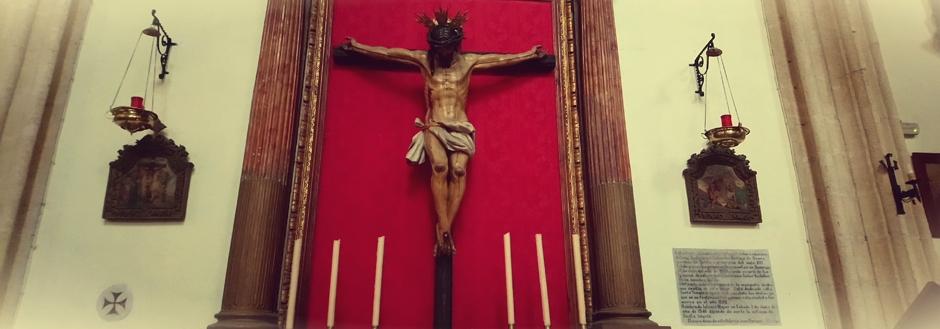 Cristo en la iglesia de San Mateo de Tarifa