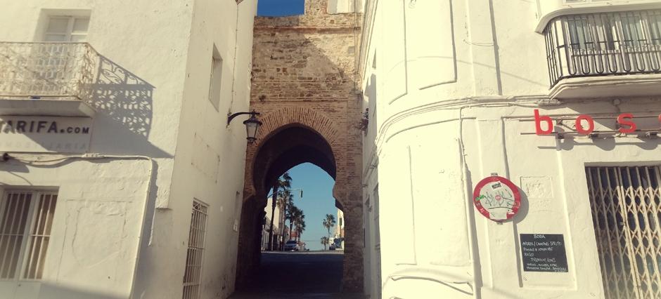 Salida desde el casco antiguo de Tarifa