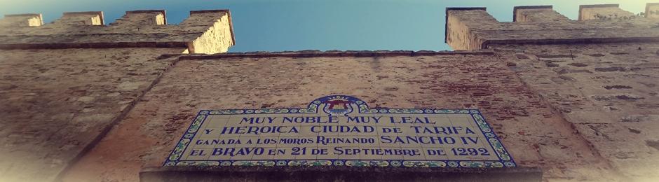 Puerta de Jerez en el casco antiguo de Tarifa