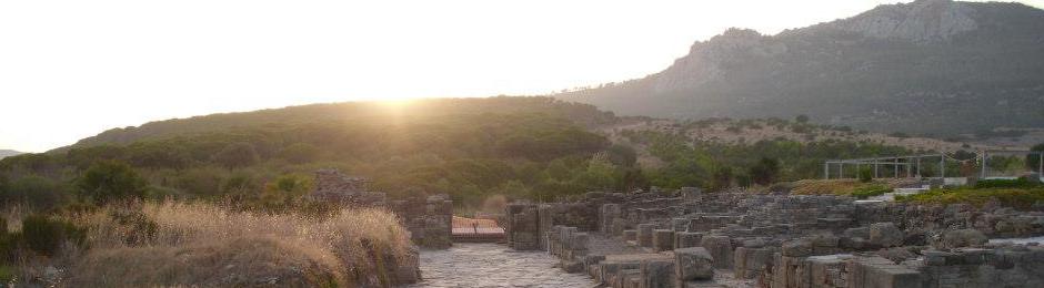 Ciudad romana de Baelo Claudia en Bolonia