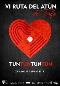 Diseño del cartel de la Ruta del Atún de Tarifa 2018
