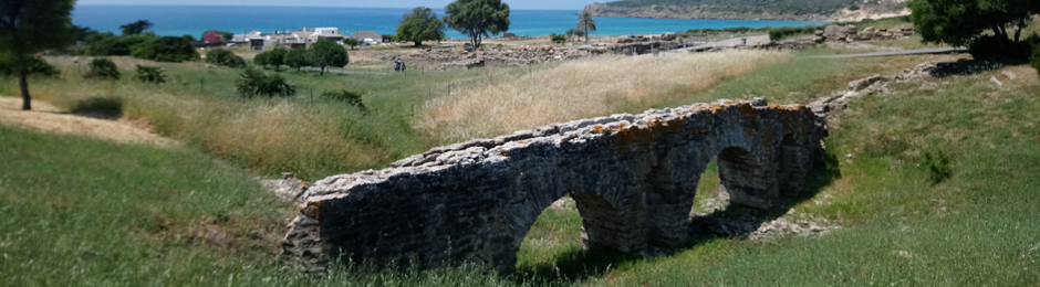 Ruinas romanas en Tarifa