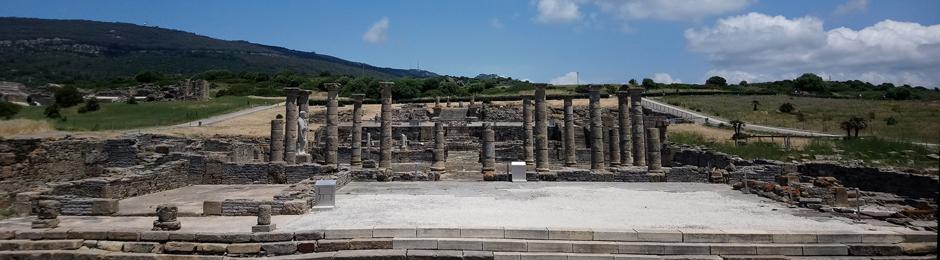 Ruinas del foro romano en Tarifa