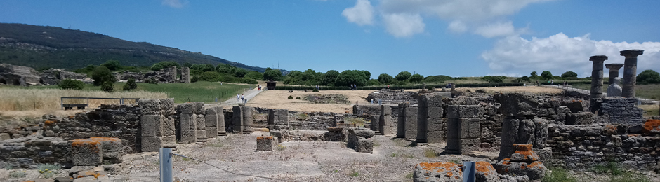 Ruinas del Mercado romano en Bolonia