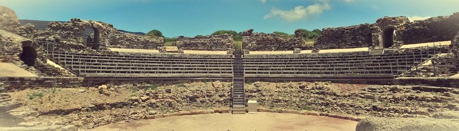 Teatro romano en Tarifa