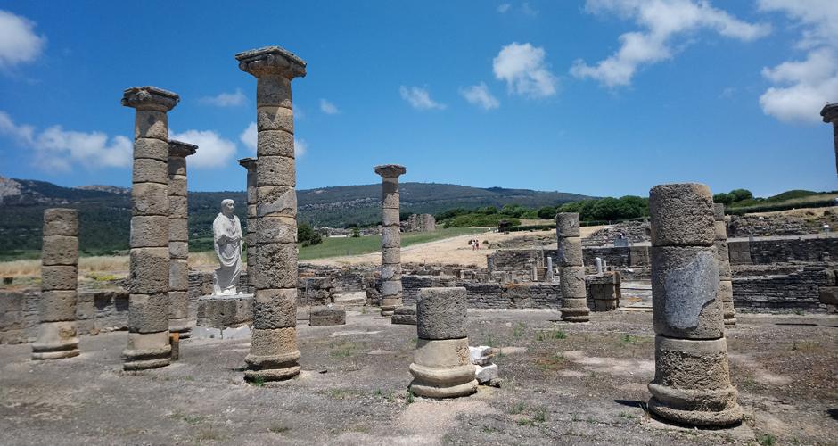 Basílica romana en Baelo Claudia